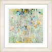 Studio Works Modern Spring Meadow by Zhee Singer Framed Painting Print in Yellow