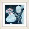 Studio Works Modern 'Marbled Berries' by Zhee Singer Framed Painting Print in Turquoise