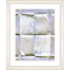 Studio Works Modern 'Folded Paper Series I' by Zhee Singer Framed Painting Print in White