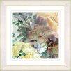 Studio Works Modern Champagne Yellow Carnation by StudioWorksModern Framed Painting Print