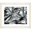 Studio Works Modern 'Lose Ends' by Zhee Singer Framed Painting Print in Black/White