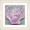 Studio Works Modern Pink Sea Shell by StudioWorksModern Framed Painting Print