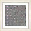 Studio Works Modern Grey Metal Weave by StudioWorksModern Framed Graphic Art