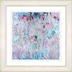 Studio Works Modern Spring Meadow by StudioWorksModern Framed Painting Print in Turquise