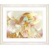 Studio Works Modern Honey Flowers Cinnamon Breeze by StudioWorksModern Framed Painting Print