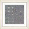 Studio Works Modern Grey Metal Weave by StudioWorksModern Framed Graphic Art in Sky Violet