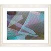 Studio Works Modern Balabosta by StudioWorksModern Framed Graphic Art in Turquoise