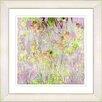 Studio Works Modern Spring Meadow Floral Breeze by StudioWorksModern Framed Painting Print