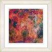 Studio Works Modern Reverie by StudioWorksModern Framed Painting Print in Red