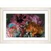 Studio Works Modern Scented Bloom by StudioWorksModern Framed Painting Print in Orange Pink
