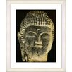 Studio Works Modern Black Buddha by StudioWorksModern Framed Photographic Print