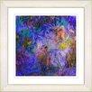 Studio Works Modern Reverie by Zhee Singer Framed Painting Print in Purple