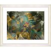Studio Works Modern Duchess Flowers by StudioWorksModern Framed Painting Print in Green and Gold