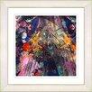 Studio Works Modern U-Turn by StudioWorksModern Framed Painting Print in Orange