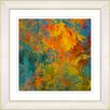 Studio Works Modern Liana Orange Bell by Zhee Singer Framed Painting Print