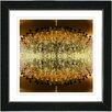 "Studio Works Modern ""Embracing Chandeliers"" by Zhee Singer Framed Fine Art Giclee Painting Print"