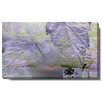 "Studio Works Modern ""Purple Mist Leaves"" Gallery Wrapped by Zhee Singer Graphic Art on Wrapped Canvas"