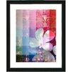 """Studio Works Modern """"Chelsea Flower"""" by Zhee Singer Framed Graphic Art"""