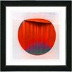 "Studio Works Modern ""Sol"" by Zhee Singer Framed Fine Art Giclee Painting Print"