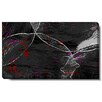 """Studio Works Modern """"Charcoal Conversions"""" by Zhee Singer Graphic Art on Wrapped Canvas in Black"""