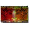 """Studio Works Modern """"Lily Bud"""" by Zhee Singer Graphic Art on Wrapped Canvas"""