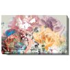"""Studio Works Modern """"Pastel Scented Bloom"""" Gallery Wrapped by Zhee Singer Painting Print on Canvas"""