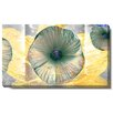 "Studio Works Modern ""Moon Flower"" by Zhee Singer Graphic Art on Wrapped Canvas"