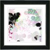 "Studio Works Modern ""Breeze Floral"" by Zhee Singer Framed Fine Art Giclee Painting Print"