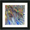 "Studio Works Modern ""Tropical Palm Euphoria"" by Zhee Singer Framed Fine Art Giclee Painting Print"