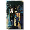 """Studio Works Modern """"Evening Walk"""" by Zhee Singer Graphic Art on Wrapped Canvas"""