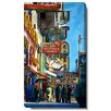 "Studio Works Modern ""Utah City Street"" by Zhee Singer Painting Print on Wrapped Canvas"