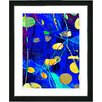 "Studio Works Modern ""Plyos Play"" by Zhee Singer Framed Fine Art Giclee Painting Print"
