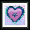 "Studio Works Modern ""Heart"" by Zhee Singer Framed Fine Art Giclee Painting Print"