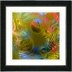 "Studio Works Modern ""Chon-Chon"" by Zhee Singer Framed Fine Art Giclee Painting Print"
