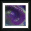 "Studio Works Modern ""Purple Tosca"" by Zhee Singer Framed Fine Art Giclee Painting Print"