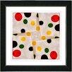 "Studio Works Modern ""Origami Star"" by Zhee Singer Framed Painting Print"