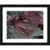 """Studio Works Modern """"Dusk of Time Floral"""" by Zhee Singer Framed Graphic Art"""