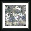 "Studio Works Modern ""Snowdrop Bells Flowers"" by Zhee Singer Framed Fine Art Giclee Painting Print"
