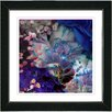 Studio Works Modern 'Royal Carnations' by Zhee Singer Framed Fine Art Giclee Painting Print