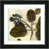 "Studio Works Modern ""Oyster Olive Berry Time"" by Zhee Singer Framed Fine Art Giclee Painting Print"
