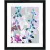 "Studio Works Modern ""Bells from Tucapel"" by Zhee Singer Framed Fine Art Giclee Painting Print"