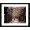 "Studio Works Modern ""Old Town"" by Mia Singer Framed Fine Art Giclee Photographic Painting Print"