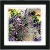 """Studio Works Modern """"Rosebush"""" by Zhee Singer Framed Fine Art Giclee Painting Print"""