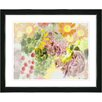 """Studio Works Modern """"Future Natural"""" by Zhee Singer Framed Fine Art Giclee Painting Print"""