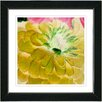 "Studio Works Modern ""Yellow Dahlia"" by Zhee Singer Framed Fine Art Giclee Painting Print"