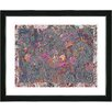 "Studio Works Modern ""Summer Field on Lace"" by Zhee Singer Framed Graphic Art"