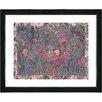 "Studio Works Modern ""Summer Field on Lace"" by Zhee Singer Framed Fine Art Giclee Painting Print"