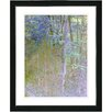 "Studio Works Modern ""Summer Forest - Noon"" by Zhee Singer Framed Graphic Art"