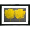 "Studio Works Modern ""Twin Tulips Canvas"" by Zhee Singer Painting Print on Canvas"