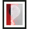 "Studio Works Modern ""Signature"" by Zhee Singer Framed Graphic Art"